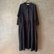 ikkuna/suzuki takayuki shirt dress(イクナ/スズキタカユキ シャツドレス)Chacoal gray