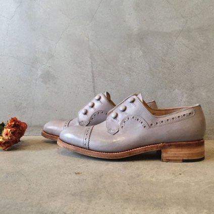 SONOMITSU(ソノミツ)Buttoned Shoes Light Gray