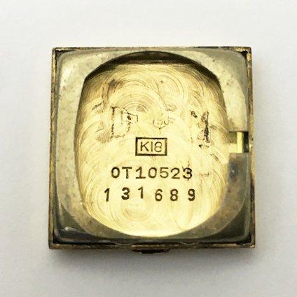 OMEGA (オメガ) カットガラス 18KYG 金無垢 純正尾錠付