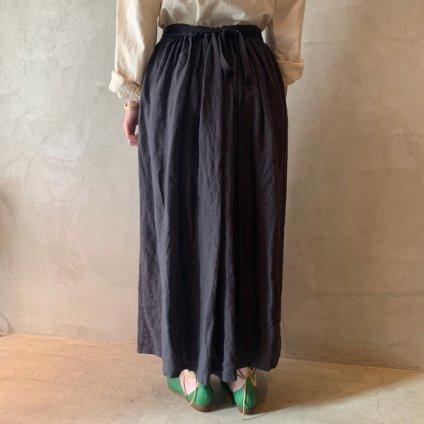 ikkuna/suzuki takayuki winding skirt  (イクナ/スズキタカユキ ワインディングスカート) Charcosl Gray