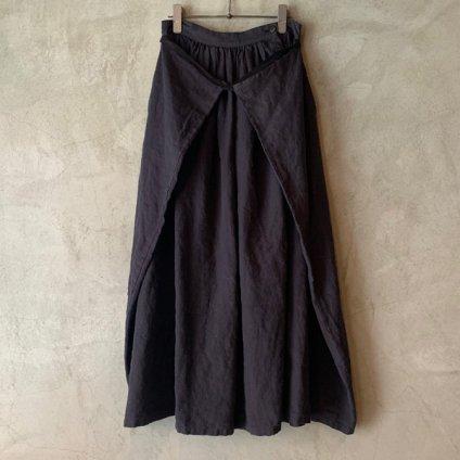 ikkuna/suzuki takayuki winding skirt  (イクナ/スズキタカユキ ワインディングスカート) White