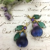 Austria Pear Earrings (オーストリア 洋梨 イヤリング)