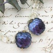 Austrie Raspberry Earrings(オーストリア ラズベリー イヤリング)