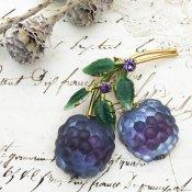 Austria Raspberry Brooch (オーストリア ラズベリー ブローチ)