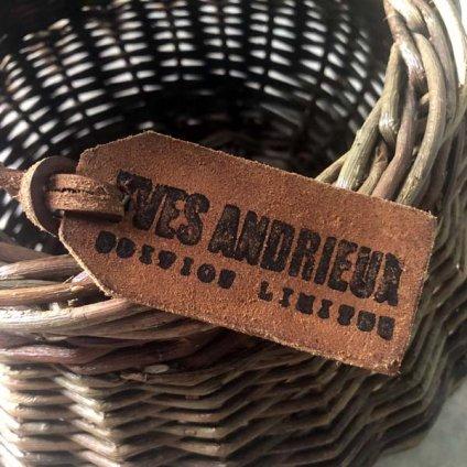 YVES ANDRIEUX WICKER BASKET (イヴ アンドリュー バスケット)  MEDIUM