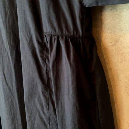 suzuki takayuki flared-sleeve dress(スズキタカユキ フレアードスリーブ ドレス)Black