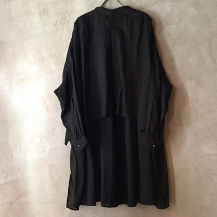 suzuki takayuki long-tail shirt (スズキタカユキ ロングテール シャツ)Black/Unisex