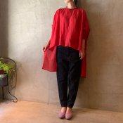 suzuki takayuki long-tail shirt (スズキタカユキ ロングテール シャツ)Red/Unisex