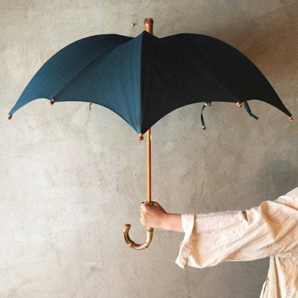 DiCesare Designs (ディチェザレデザイン) 晴雨兼用日傘 Kabocha 1TONE Black