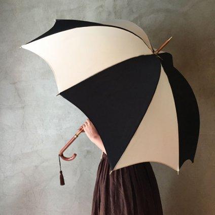 DiCesare Designs (ディチェザレデザイン) 雨傘 Rhythm 2TONE Ochre & Ivory