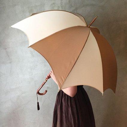 DiCesare Designs (ディチェザレデザイン) 雨傘 Rhythm 2TONE Black & Ivory