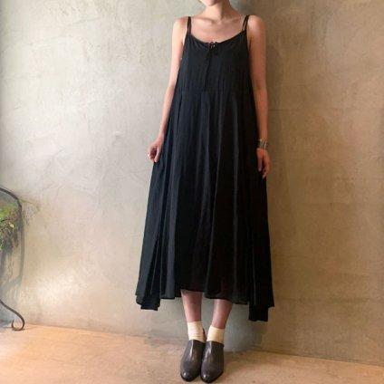 suzuki takayuki camisole dress(スズキタカユキ キャミソールドレス)Black