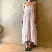 suzuki takayuki camisole dress(スズキタカユキ キャミソールドレス)Nude