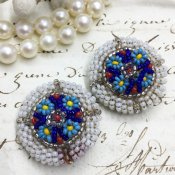 1950's Beads Earrings(1950年代   ビーズイヤリング)