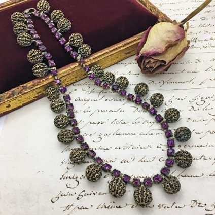 1940's Tree Nuts Necklace(1940年代 ツリーナッツネックレス)