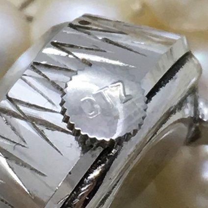 CITIZEN RINGWATCH (シチズン リングウォッチ) 青文字盤 カットガラス