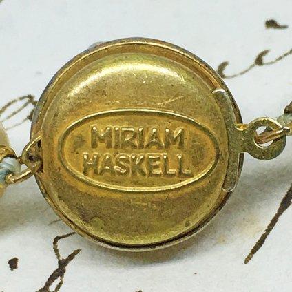 MIRIAM HASKELL(ミリアムハスケル)ネックレス