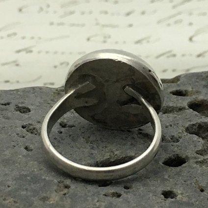 Navajo Pearl Silver Ring (ナバホパール シルバーリング)