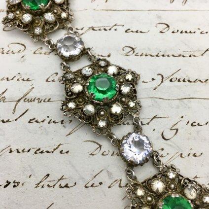 1930's Vaseline Glass Bracelet(1930年代 ヴァセリンガラス ブレスレット)