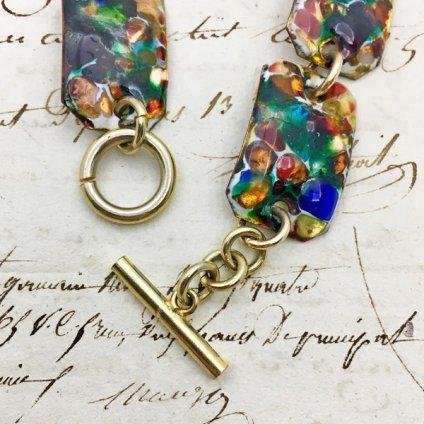 1950's Enamel Bracelet(1950年代 エナメル ブレスレット)