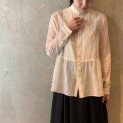suzuki takayuki shrunk shirt (スズキタカユキ シュランク シャツ)Ecru