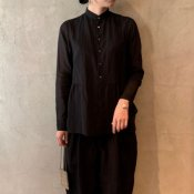 suzuki takayuki shrunk shirt (スズキタカユキ シュランク シャツ)Black