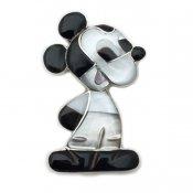 Paula Leekity Brooch Pendant top Mickey Mouse (ポーラ リーキティ ブローチ・ペンダントトップ ミッキーマウス全身)