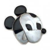 Paula Leekity Brooch Pendant top Mickey Mouse (ポーラ リーキティ ブローチ・ペンダントトップ ミッキーマウス顔)