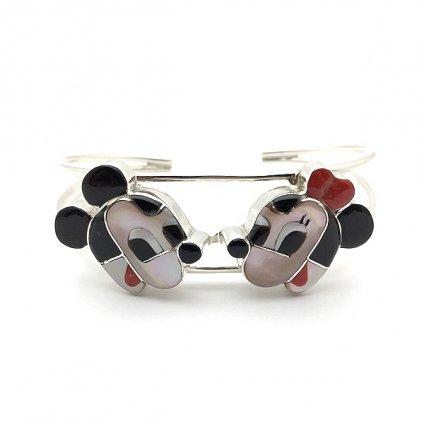 Paula Leekity Bangle Mickey Mouse and Minnie Mouse(ポーラ リーキティ バングル ミッキーマウス&ミニーマウス)