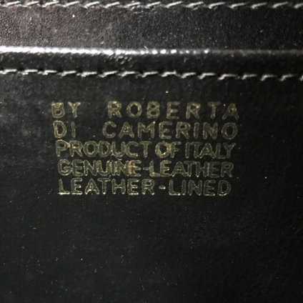 ROBERTA DI CAMERINO(ロベルタ ディ カメリーノ)ハンドバッグ
