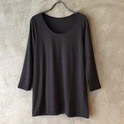 ikkuna/suzuki takayuki long-sleeve t-shirt(イクナ/スズキタカユキ ロングスリーブ Tシャツ)Charcoal Gray