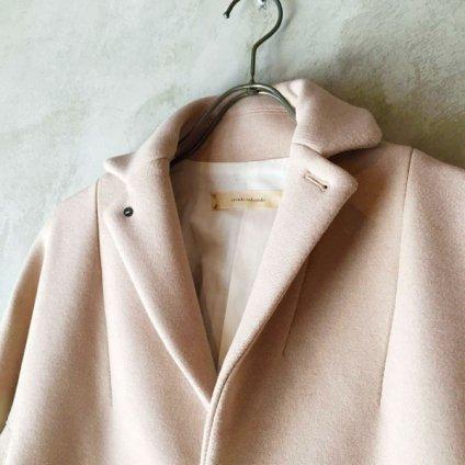 suzuki takayuki tailored-collar coat(スズキタカユキ テーラードカラーコート)Nude