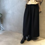 ikkuna/suzuki takayuki wide legged pants(イクナ/スズキタカユキ ワイドレッグドパンツ)Black