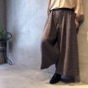ikkuna/suzuki takayuki wide legged pants(イクナ/スズキタカユキ ワイドレッグドパンツ)Hazel