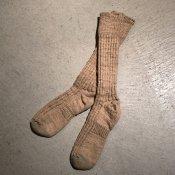 ikkuna/suzuki takayuki gara-bou socks(イクナ/スズキタカユキ ガラボウソックス)Hazel