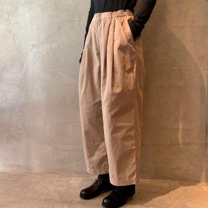 suzuki takayuki easy pants(スズキタカユキ イージーパンツ)Beige/Unisex