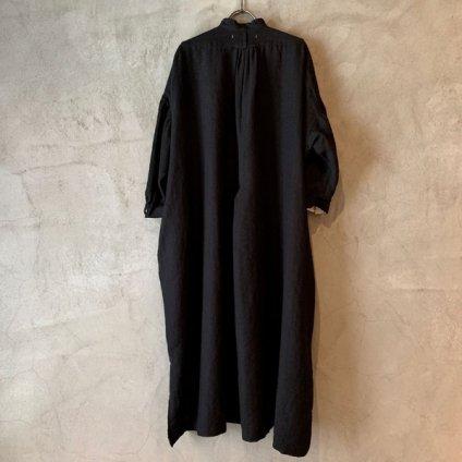 suzuki takayuki peasant dress (スズキタカユキ ペザントドレス)Black