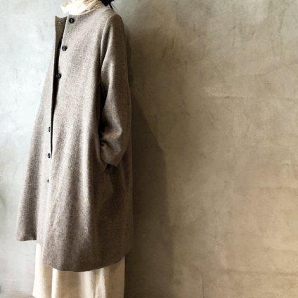 ikkuna/suzuki takayuki no-collar coat(イクナ/スズキタカユキ ノーカラーコート)Nude