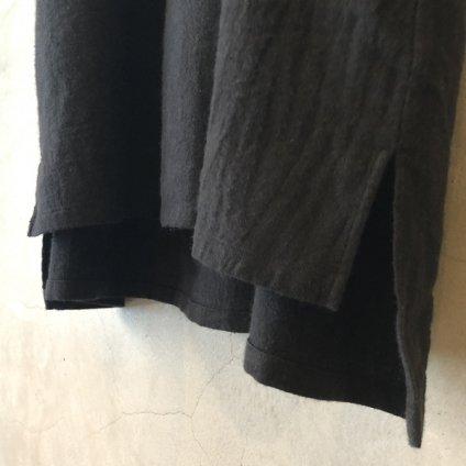 ikkuna/suzuki takayuki pullover dress (イクナ/スズキタカユキ プルオーバードレス)Black