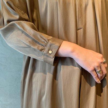 suzuki takayuki slip-on dress (スズキタカユキ スリップオンドレス)Light brown