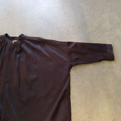 suzuki takayuki slip-on dress (スズキタカユキ スリップオンドレス)Dark brown
