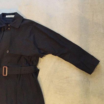 suzuki takayuki trench coat(スズキタカユキ トレンチコート)Black