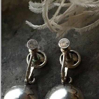 Navajo Pearl Silver Earrings(ナバホパール シルバーイヤリング)