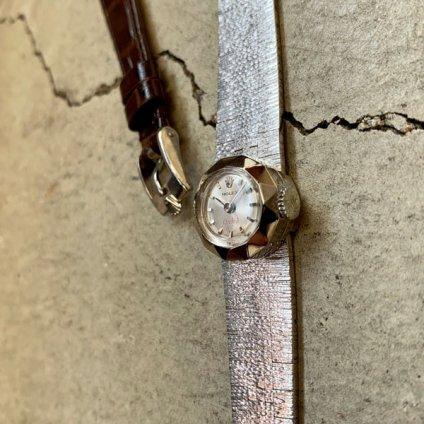 ROLEX CHAMELEON ORCHID(ロレックス カメレオン オーキッド)18KWG 金無垢ベルト・純正尾錠付