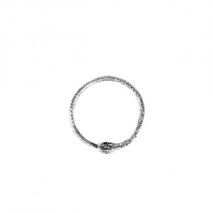 momocreatura Snake Ring Silver Sapphire(モモクリアチュラ ヘビリング シルバー サファイア)