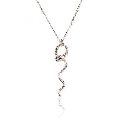 momocreatura Waving Snake Necklace Silver(モモクリアチュラ ヘビネックレス シルバー)