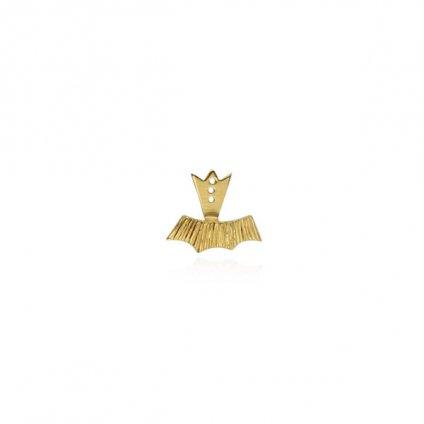 momocreatura Halo Ear Jacket Part Gold Single(モモクリアチュラ ハロ イヤージャケット ゴールド 片耳)