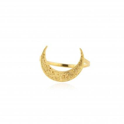 momocreatura Crescent Moon Ring Gold(モモクリアチュラ 三日月リング ゴールド)