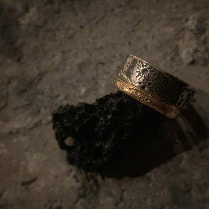momocreatura Moon Crater Ring Gold 2mm(モモクリアチュラ クレーターリング ゴールド 2mm)