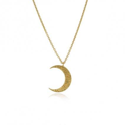 momocreatura Crescent Moon Necklace Gold(モモクリアチュラ 三日月ネックレス ゴールド)